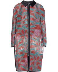 Giorgio Armani Overcoat - Multicolor