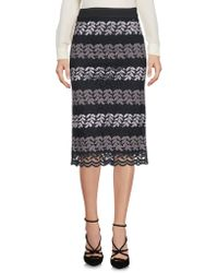 CafeNoir - 3/4 Length Skirt - Lyst