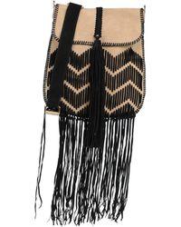 Alberta Ferretti Cross-body Bag - Natural