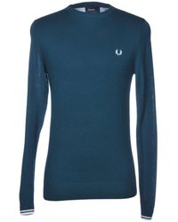 Fred Perry Pullover - Vert