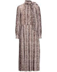 Celine Midi Dress - Multicolor
