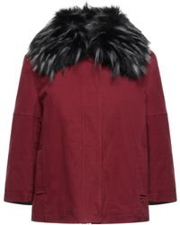 Trussardi Synthetic Down Jacket - Red
