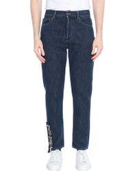 Palm Angels Pantaloni jeans - Blu
