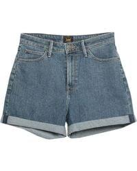 Lee Jeans Denim Shorts - Blue