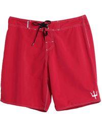 Osklen Pantaloni da mare - Rosso