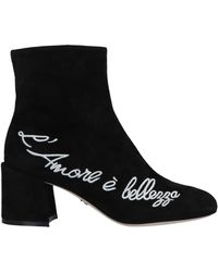 Dolce & Gabbana - Bottines - Lyst