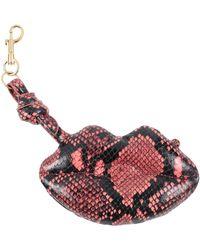 Anya Hindmarch Key Ring - Pink