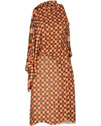 Givenchy Robe aux genoux - Orange
