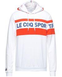 Le Coq Sportif Sweatshirt - White