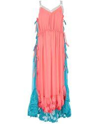 Marco De Vincenzo Midi Dress - Pink