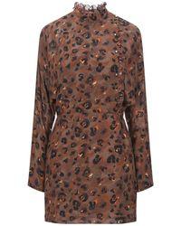 Lala Berlin Short Dress - Brown