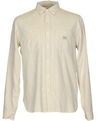 208d45f987 Lyst - Denim   Supply Ralph Lauren Cowboy Flag Shirt in White for Men