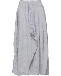 Collection Privée Long Skirt - Gray