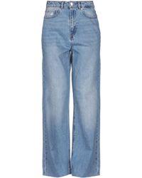 Vero Moda Pantalon en jean - Bleu