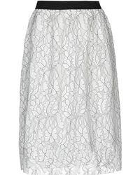 Silvian Heach 3/4 Length Skirt - White