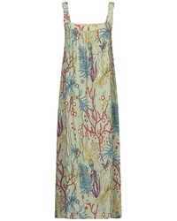 Camicettasnob 3/4 Length Dress - Green