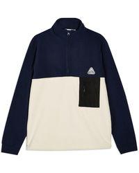 TOPMAN Sweatshirt - Blue