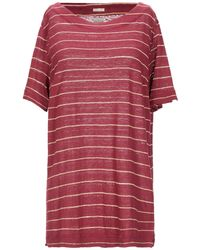 Massimo Alba T-shirts - Rot