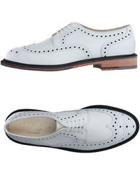 Robert Clergerie Lace-up Shoe - White