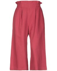 Suncoo 3/4-length Short - Red