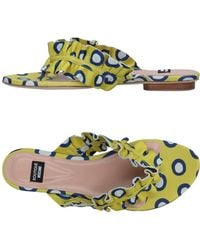 Boutique Moschino - Toe Post Sandal - Lyst