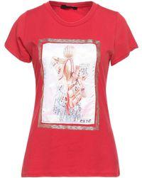 Exte T-shirts - Rot
