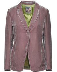 Maliparmi Suit Jacket - Purple