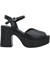 ELISA CONTE® Sandals - Black