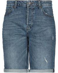 Only & Sons Bermuda en jean - Bleu