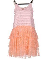 Giamba Short Dress - Pink