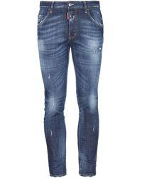 DSquared² Denim Trousers - Blue