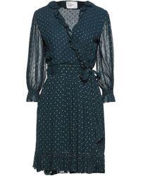 Leon & Harper Short Dress - Blue