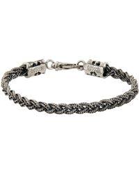 Emanuele Bicocchi Bracelet - Metallic