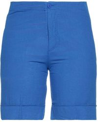 European Culture Shorts & Bermuda Shorts - Blue