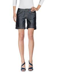 Peuterey - Denim Shorts - Lyst