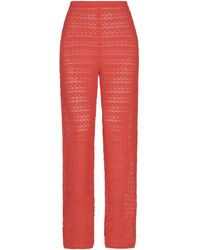 Anna Sui Pantalon - Orange