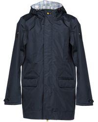 EA7 Overcoat - Blue