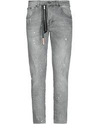 Takeshy Kurosawa Pantaloni jeans - Grigio