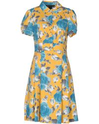 Marc By Marc Jacobs Knee-length Dress - Yellow