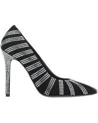 Amen Court Shoes - Black