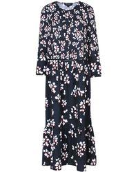 French Connection - Eva Crepe Oversized Maxi Dress - Lyst