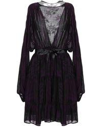 Mariagrazia Panizzi Short Dress - Purple