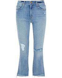 Mother Denim Pants - Blue
