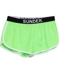 Sundek Shorts & Bermuda Shorts - Green
