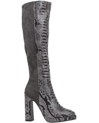 Laura Biagiotti Knee Boots - Grey