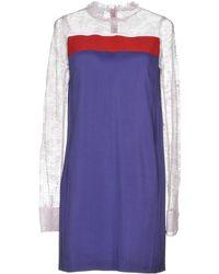BROGNANO - Short Dress - Lyst