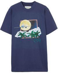 CASABLANCA T-shirt - Blue