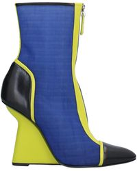 Emporio Armani Ankle Boots - Blue