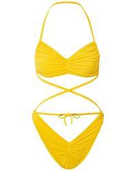 Norma Kamali Bikini - Gelb