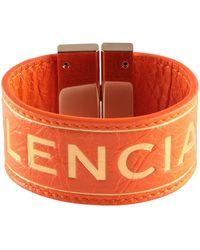 Balenciaga Bracelet - Orange
